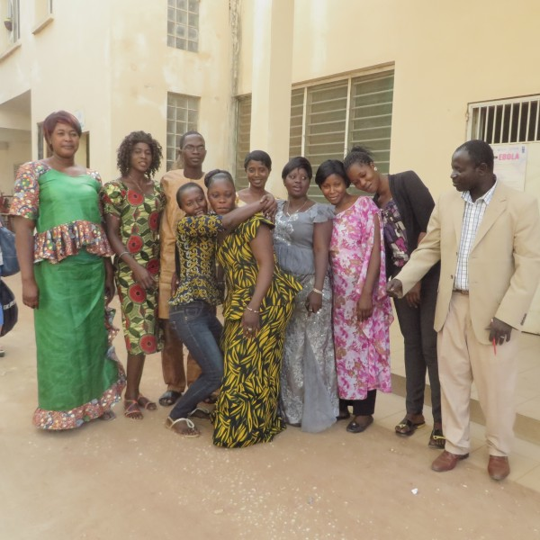 Workshop Gambian Teachers incl Mr Giba